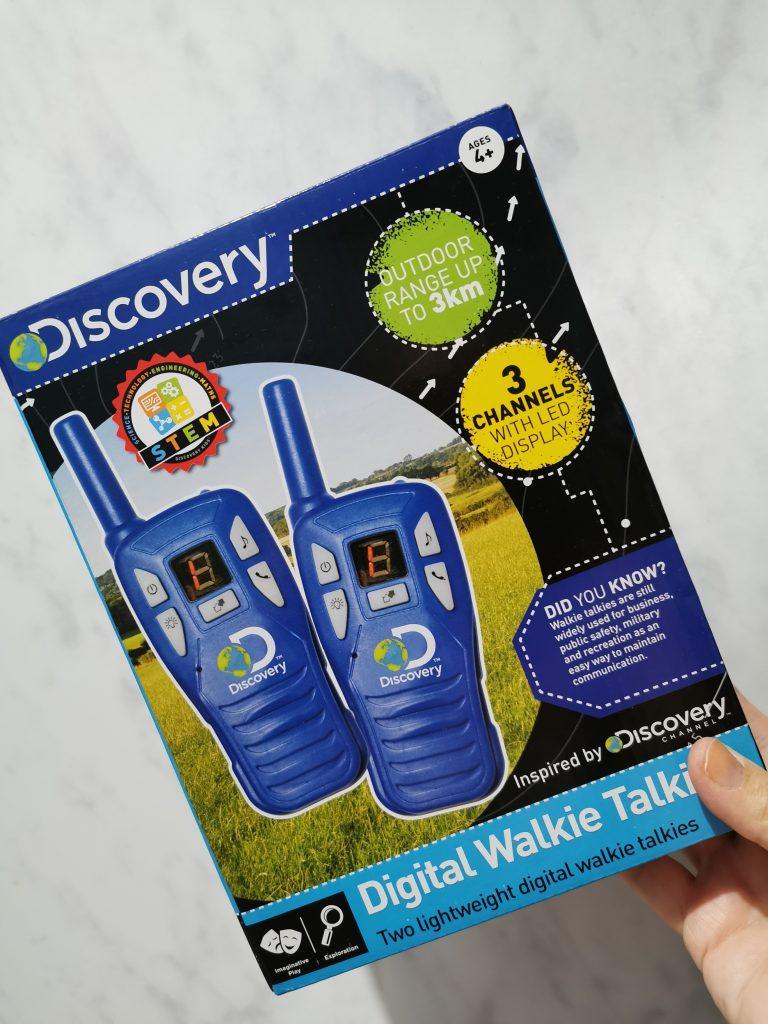 Discovery Digital Walkie Talkies